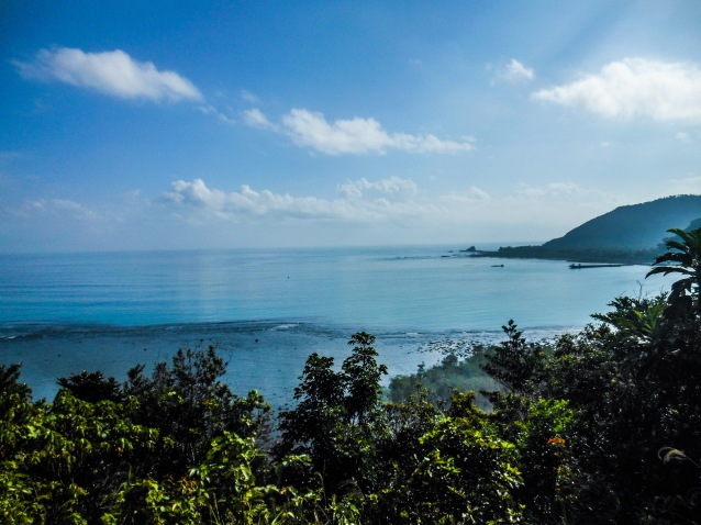 View of Baler Bay on top of Ermita Hill