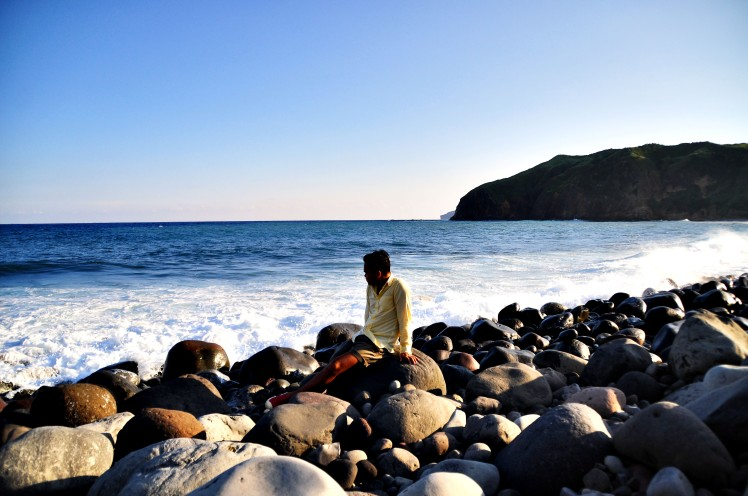 Valugan boulder beach is part of the North Batan tour.