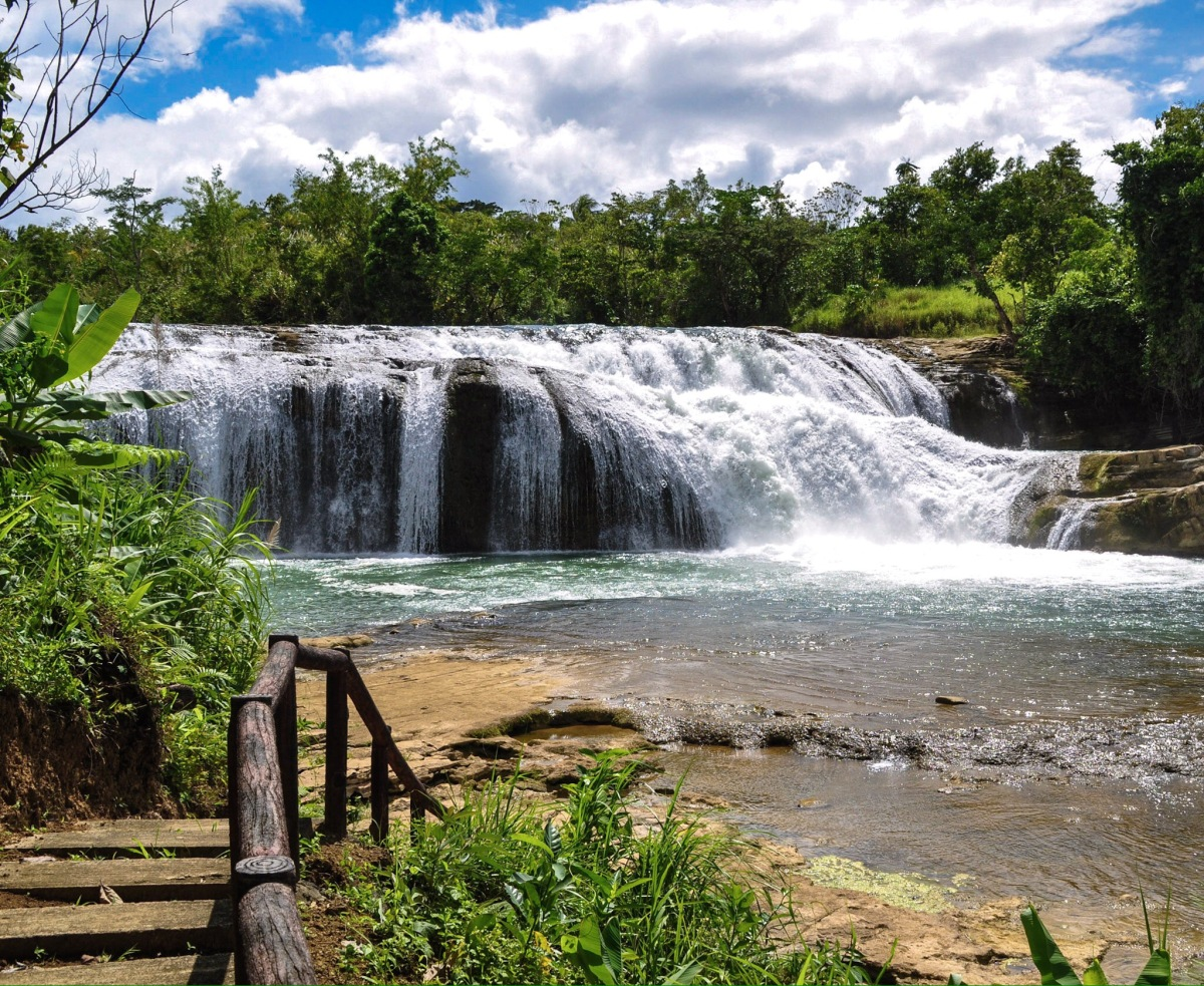 Calbiga Samar's Gem: Lulugayan Falls